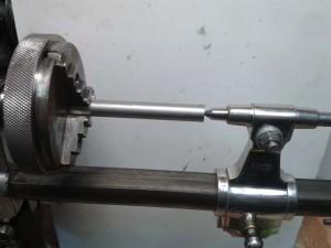 fabricacion de eje de barrilete