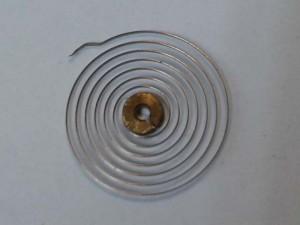 espiral de reloj
