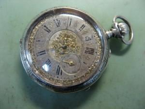 Restauración de un reloj de bolsillo antiguo