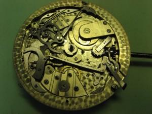 reloj de bolsillo con repetición de cuartos