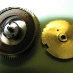 Barrilete de un reloj de bolsillo con cuerda