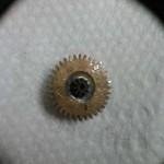 Reparación de una rueda de un reloj de bolsillo