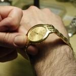 Reloj Jaguar Chapado en oro