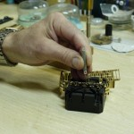Colocando un reloj en un tas
