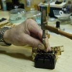 Sacando pasadores de una pulsera